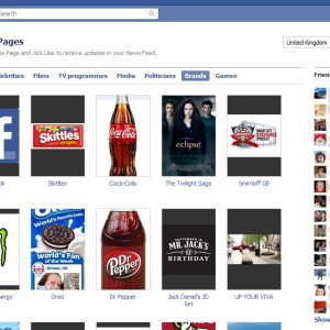 Facebook Page Browser