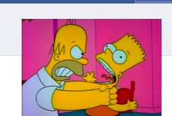 Facebook Simpsons Trolling