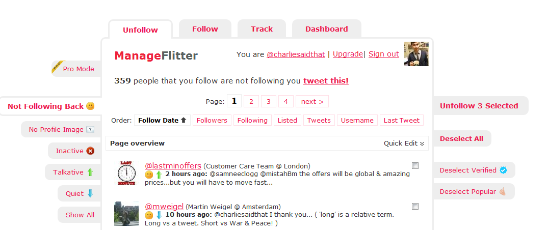 Twitter Tips: How to Mass Unfollow People on Twitter