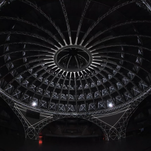 projection mapping dome